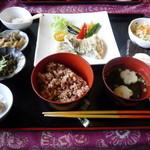 お食事処 峠の茶屋 - 料理写真:白身魚のタルタルソース