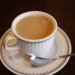 海女茶屋 - カフェオレ