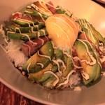 アボカフェ - やみつきアボカドスパム丼