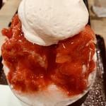 森乃園カラオケ茶屋 - いちごかき氷