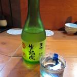 雑魚や - 天心 生熟成 冷酒 1000円 (2019.8)