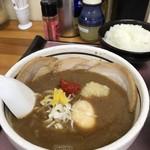 麺屋 六根 - チャーシューつけ麺味玉トッピング♪