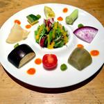 肉ばたけ - 季節のごろごろ野菜のパレット