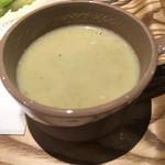 肉ばたけ - ランチのスープ ズッキーニ