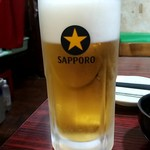 とうきょう - 生ビール:250円税別