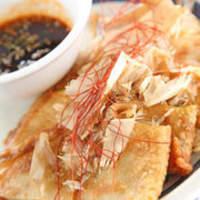 萬菜 - キムチとチーズのチヂミ