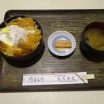 北川食堂 - カツ丼 ¥730