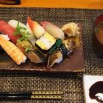 玄海鮨 - 貝汁 が付きます