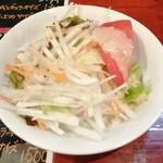 中華料理 八戒 - カリィランチのサラダ