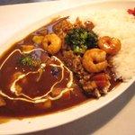 洋食屋キッチンKAZU - 小エビと彩り野菜のカレー