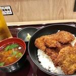 牛カツ京都勝牛 - タレカツ丼¥960(税込)