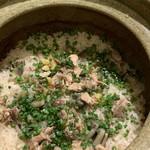 114158293 - すっぽんの土鍋ご飯