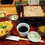 そばや 池乃家 - 料理写真:かつ丼セット