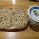 地肴 酒 手打蕎麦 ZARUBAKU - ごまだれ蕎麦(冷)①