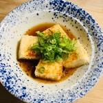 114163079 - セットの揚げ出し豆腐