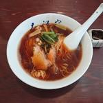 大江戸 - 料理写真:醬油ラーメン(並)650円