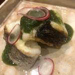 味享 - 鱸の炙りと蓼酢