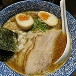 煮干し中華そば 麺屋 銀星 高円寺 - アッサリ煮干しそば