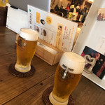 遊来友楽 - 生ビール