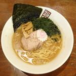 玉五郎 - あおさ煮干しラーメン