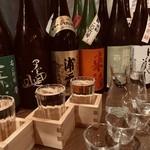 新橋うっちゃり - 季節の日本酒!