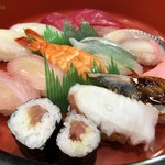 小柳寿司 - にぎりランチ(1.5人前)