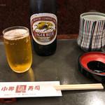 小柳寿司 - 瓶ビール