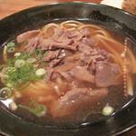 海部のうどん - うどん・丼・海鮮系天ぷらがメインのお店です。元祖まぐろ肉うどん500円にしました。
