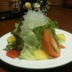 だいきちカレー - キラキラ輝くあなたにふさわし、サラダです。