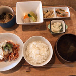 ことり食堂 - 本日のランチ
