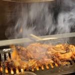 焼肉バル 炎家 - 小腸一本焼き