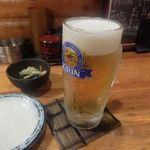 鳥酎 - ビール
