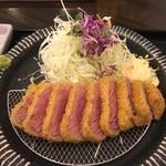 gyuukatsutonkatsujojokichi - サーロイン牛かつ膳