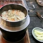 かき処 海 - 牡蠣釜めし
