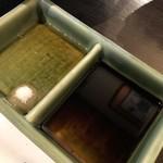 大和料理 物集女 - 肝刺しのタレ