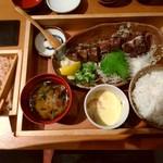 114194567 - かつおの藁焼き定食(並)
