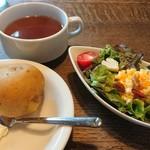 gii - お得なカレーセット(サラダ・スープ)    250円