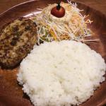 びっくりドンキー - 肉、野菜、ご飯