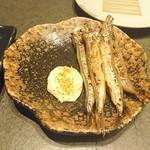 Hakodate Dining 備後屋 - ししゃも焼き(2019/7/25)