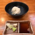 松月庵 - 料理写真:そばがき   650円
