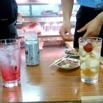 肉のまえかわ - 肉のまえかわ@大井町 飲み物とアテ