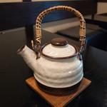紫仙庵 - その他写真:蕎麦湯