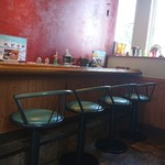 カレーリーフ - 店内カウンター