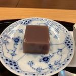柚木元 - 水羊羹めちゃうま!!