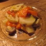 11421292 - ギリシャ風 野菜のマリネ コリアンダー風味