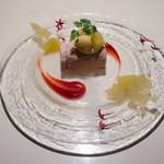 マザーエスタ - 料理写真:ラズベリーのセミフレッド