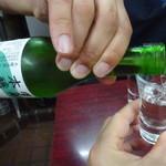 萬太郎 - 冷酒は澤乃井のみ