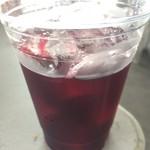 アメリカンバーベキューハウス ブルーテーブル - カチ割りワイン(赤)