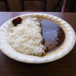 万定フルーツパーラー - 料理写真:カレーライス