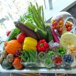 レストランKEI - この日使用されるお野菜達